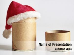 Christmas christmas theme: time cardboard