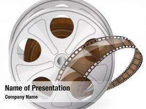 Movie vintage reel tape