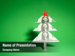 Made christmas tree one dollar