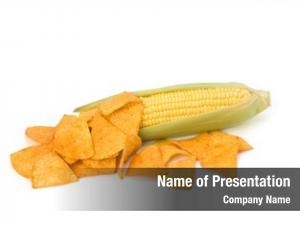 Corn corn cob chips white