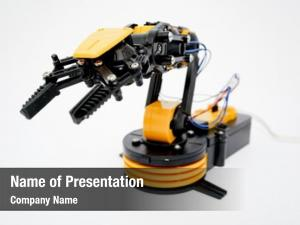 Arm plastic robot model