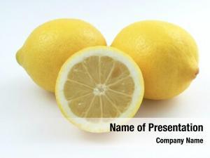 Lemons two whole one half