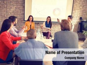 Have young businesspeople business meeting