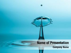 Environment rippled splash crown