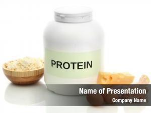 Powder jar protein food protein,