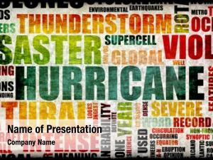Disaster hurricane natural art background