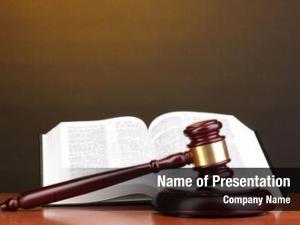 Judgement books opened juridical