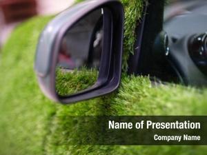 Grass eco transport covered car