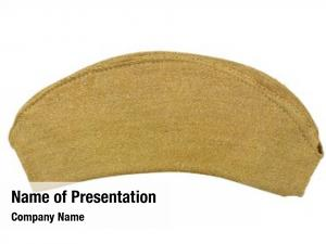 Forage cap army soldiers white