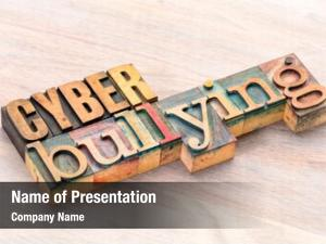 Cyber bullying powerpoint background