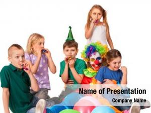 Birthday child powerpoint theme