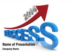 Business year 2014 success concept