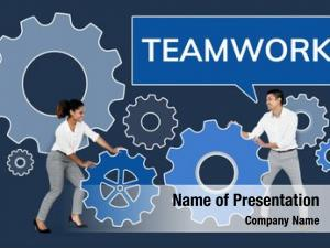 Focusing business people teamwork