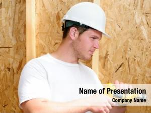 Builder general contractor using power