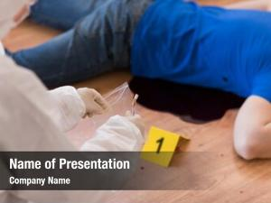 Investigation forensic powerpoint template