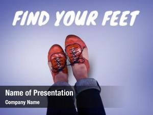 Find digital composite your feet