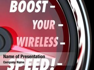 Wireless boost your speed words