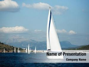 Yacht greece sailing boat sea