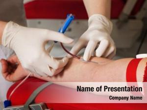 Blood nurse patient samples
