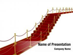 Path red carpet ladder