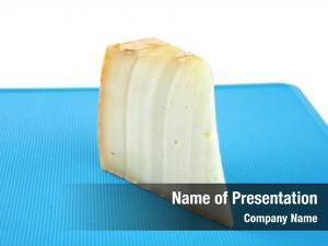 Swiss piece light cheese blue