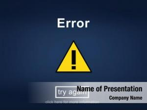 Website error disconnect message information