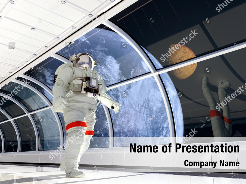 Sunrise this galaxy elements PowerPoint Template - Sunrise