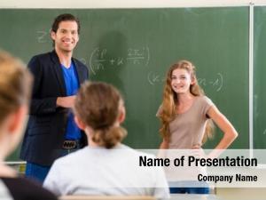 Teacher school class educator testing