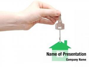 House hand handing key