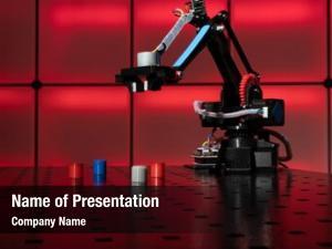 Robot model industrial arm industrial