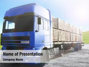 Truck front cargo