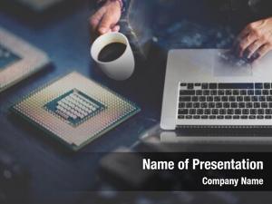 Using computer programmer laptop