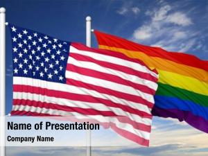 Flag rainbow colors usa flag