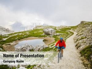 Dolomites, mountain biking tre cime