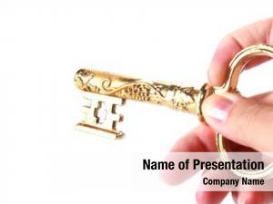 Hand gold key