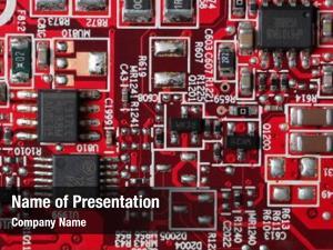 Board complex circuit texture