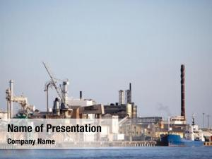 Dock industrial shipping sea