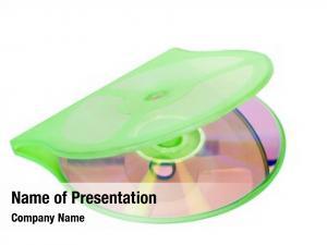Disc close up compact case