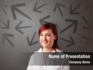 Choosing business person between two