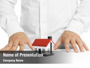 Agent real estate house model