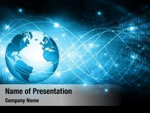 Global internet concept business