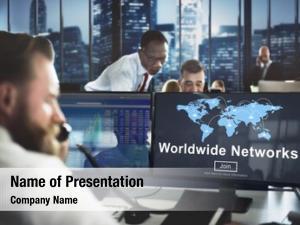 Global worldwide networks communication finance
