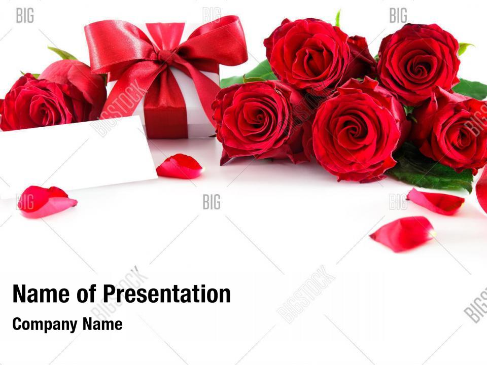 Mothers valentines day PowerPoint Template - Mothers
