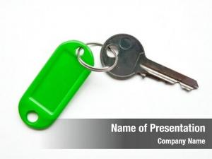 Key key green holders white