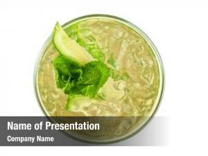 Cucumber, fresh cocktail apple juice,