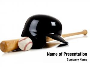 Helmet baseball bat, leather baseball