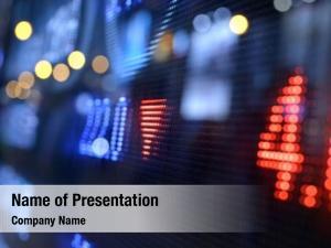 Data stock market display