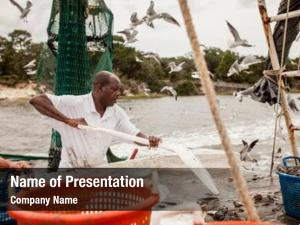 African american fisherman