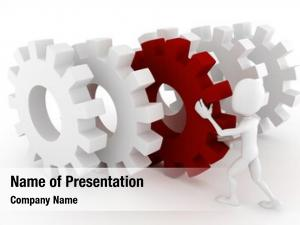 Abstract Gears PowerPoint Templates - Abstract Gears PowerPoint