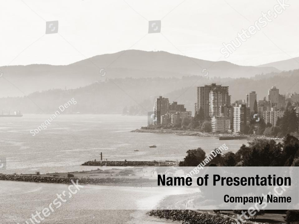 Vancouver City Powerpoint Theme Powerpoint Template